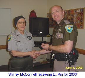 Shirley is Lieutenant for 2003/2004