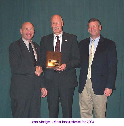 John Albright - Most Inspirational