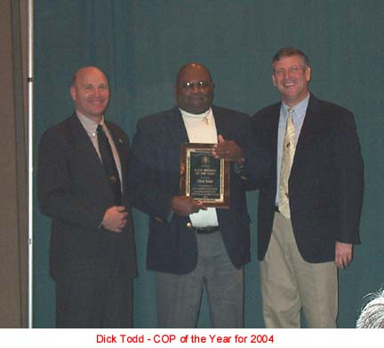 COP Member of the Year 2004