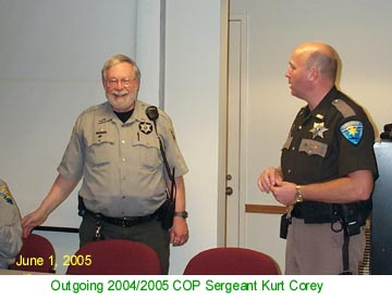 Thanks Kurt for all your years of COP service!!