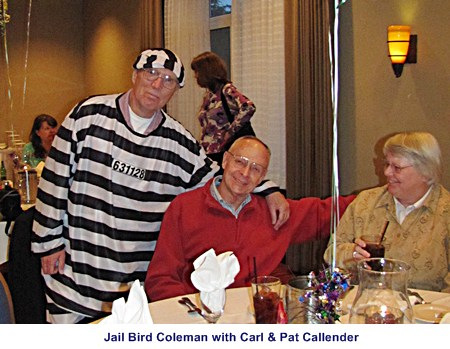 Carl, are you sure you want to continue patrolling with a jail bird?