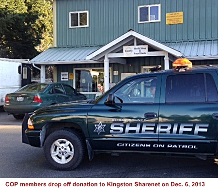 Cash donations were also made to 3 other Kitsap foodbanks