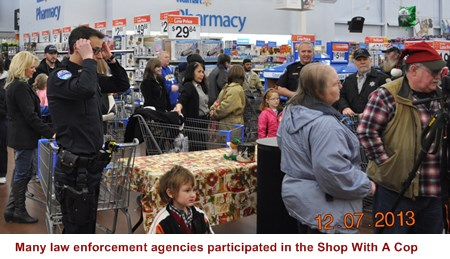 Poulsbo Wal-Mart was over-run with police!