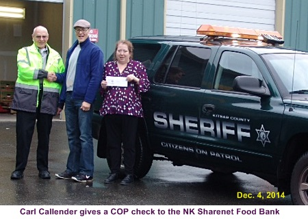 The COP Unit donated to 4 local foodbanks