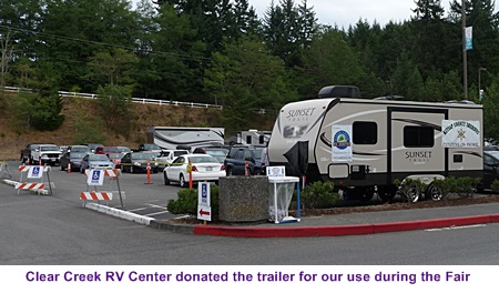 Big thanks to Clear Creek RV Center